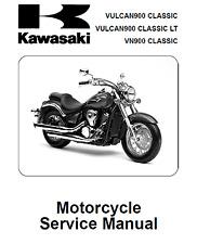 Kawasaki Vulcan VN 900 VN900 Classic REPAIR MANUAL  2006 - 2013