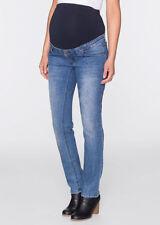 Markenlose Normalgröße Umstands-Jeans