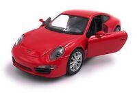 Porsche 911 Carrera S 991  Modellauto Auto LIZENZPRODUKT 1:34-39 Rot OVP