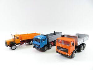 Herpa Kibri 1:87 Baustellenfahrzeuge Kipper Konvolut #3484