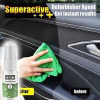 Headlight Lens Restoration System Repair Car Plastic Light Polishing Cleaner Kit