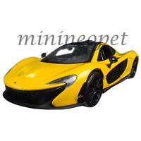 MOTORMAX 79325 MCLAREN P1 1/24 DIECAST MODEL CAR YELLOW