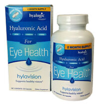 Lutein, zeaxanthin, bilberry, vitamin A, C,E and HA  By HylaVision  120 capsules