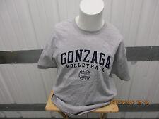 VINTAGE CHAMPION GONZAGA BULLDOGS VOLLEYBALL XL GREY SHIRT NEW W/ TAGS