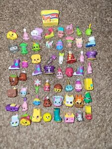 Lot of 57 Shopkins Food & Grocery etc. Figures figurines