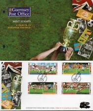 Guernsey MNH 1996 Football Championships, Presentation Pack & FDC
