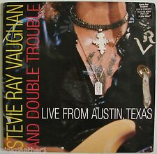 Stevie Ray VauGhan and Double Trouble  : Live from Austin Texas Music Laserdisc