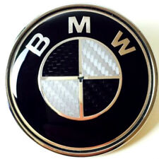 Fits to BMW 74mm Carbon Fibre Boot Badge Emblem Roundel-E46, E82, E90 (Trunk)