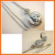 NEW Marilyn Monroe Women Ladies Girl Men Boy Fashion Pocket Watch Necklace