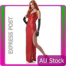Jessica Rabbit Costume Red Screen Sinsation Movie Star Halloween Fancy Dress
