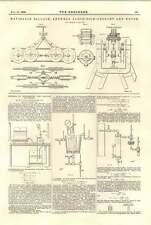 1894 navigabile Palloncino ANVERSA ESPOSIZIONE CARRELLO E MOTORE secchezza del vapore
