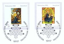 FRG 2005: Christmas No 2492 and 2493! Berlin First Day Special Cancellation! 1A
