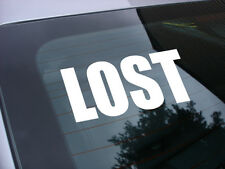 lost decal sticker tv miniseries *free ship