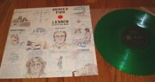 JOHN LENNON SHAVED FISH COLORED GREEN VINYL LP JAPAN  LIMITED EDITION 2500