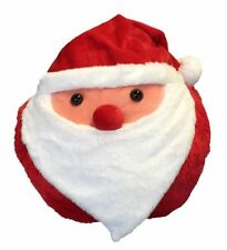 Cozy Time Giant Santa Handwarmer. Big Soft Plush Cuddly Toy.