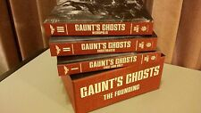 GAUNT'S GHOSTS THE FOUNDING TRILOGY BOX SET Commissar Gaunt warhammer Limited
