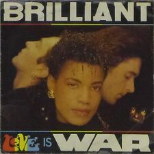 "BRILLIANT 'LOVE IS WAR' UK PICTURE SLEEVE 7"" SINGLE"