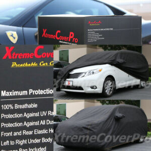 2011 2012 Toyota Sienna Breathable Car Cover w/MirrorPocket