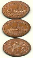 Passau ●●● 3x Elongated Coins - kompletter Satz ●●● aus 5 Cent