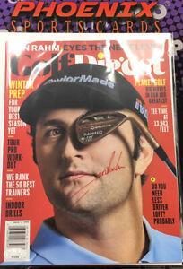 John Rahm Auto Autograph Signed GOLF Digest Full Magazine JSA Coa 1