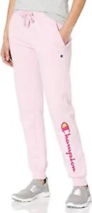Women's Champion Powerblend Beloved Orchid Pink Jogger Sweatpants Size Large