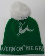 TAVERN ON THE GREEN CENTRAL PARK NEW YORK CITY ADVERTISING WINTER STOCKING CAP