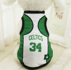XL White34 Summer Pets Clothes Vest Coat T Shirt Jacket Clothing For Dogs Cats