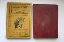 2 Antique Books: 1901 Child-Life in Japan by Ayrton & 1906 Story of Wah Sing