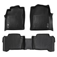 Maxliner 2005-2011 Fits Toyota Tacoma Double Cab Floor Mats 2 Row Set Black
