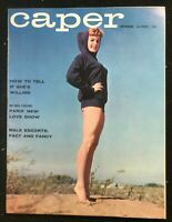 CAPER Magazine Sep 1959  Girlie / Pin-Up / Risque / Cheesecake / Men's Interest