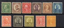 More details for united states 1922-32 set to 10c perf 10 mh