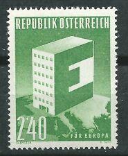 AUSTRIA EUROPA cept 1959 Sin Fijasellos MNH