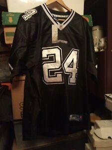 Dallas Cowboys Black NFL Shirt Jersey #24 Marion Barber Size 2XL XXL
