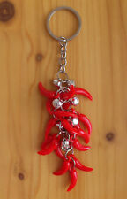 CHILI PEPPER keyring Paprika peppers and bells key chain