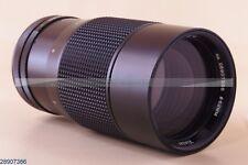 VIVITAR AUTO TELEPHOTO 3.5/200mm Prime Lichtriese Bokeh Monster Canon FD (289)