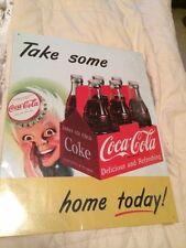 Coca Cola Coke Sprite Boy Advertising Vtg Retro Metal Tin Sign New - FREE SHIP