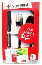 Home Maid HM063 3 Piece Kids Cutlery Set
