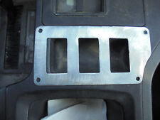 84 to 96 JEEP CHEROKEE SWITCH PLATE CENTER CONSOLE SWITCH PLATE COIN SLOT PLATE