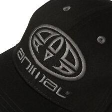 Black ANIMAL Magen Surfboard Surfer Baseball Hat Cap Swell Nixon DC Volcom ANML
