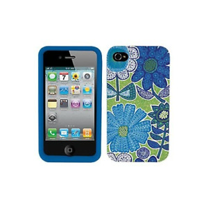 Vera Bradley Hardshell Snap-on Case Cover Doodle Daisy For Apple iPhone 4/4S
