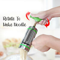7 Mode Card Stainless Steel Manual Noodle Pasta Maker Press Spaghetti