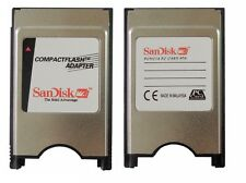 SANDISK CF TO PCMCIA  CompactFlash Adapter ATA PC Card TO CF For CNC GE Fanuc
