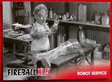 FIREBALL XL5 - Base Card #31 - ROBOT SERVICE - Gerry Anderson - 2017
