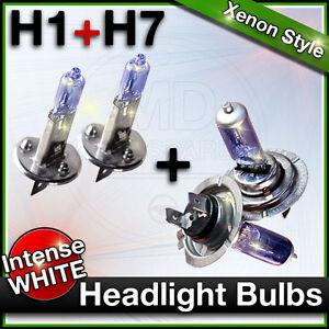 H1 + H7 FIAT DUCATO, IDEA & PUNTO Car Headlight XENON Halogen Bulbs MAIN & DIP
