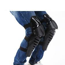 Unisex Motorcycle Kneepad Leg Guard Patella Support Brace Protector Armor Black