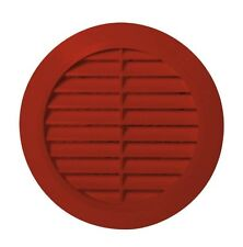 Brick Circle Air Vent Grille Adjustable Ducting Size & Fly Screen / Mesh T36CG