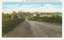 VA * Cedar Creek Battlefield nr. Winchester 1920s  Gen. Sheridan  Civil War