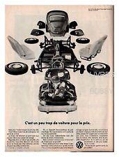 1969 DOCUMENT (ref TAM 060) PUB : AUTO VW COCINELLE 1p