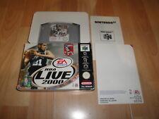 NBA LIVE 2000 NUS-P-NNLP DE EA SPORTS PARA LA NINTENDO 64 N64 USADO MUY NUEVO