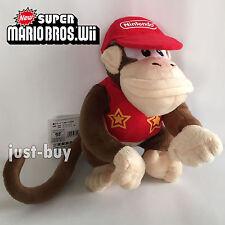 Super Mario Donkey Kong Country Returns Plush Diddy Kong Soft Toy Stuffed Animal